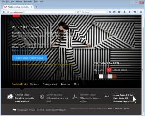 Adobe Website